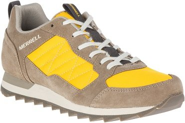 ALPINE SNEAKER M - OLD GOLD