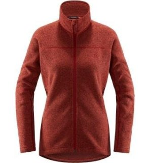 SWOOK Q JACKET - BRICK RED
