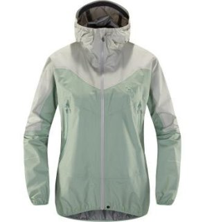 LIM COMP Q JACKET - BLOSSOM GREEN/HAZE