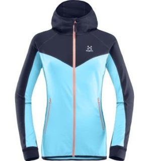 LITHE Q HOOD - BLUE FOX/TARN BLUE