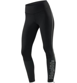 LIM COMP Q TIGHTS - TRUE BLACK/STONE GREY