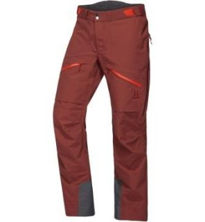 NENGAL 3L PROOF PANT - MAROON RED/HABANERO