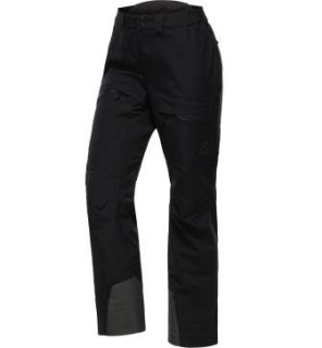 KHIONE 3L PROOF Q PANT - TRUE BLACK