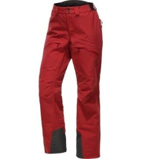 KHIONE 3L PROOF Q PANT - BRICK RED