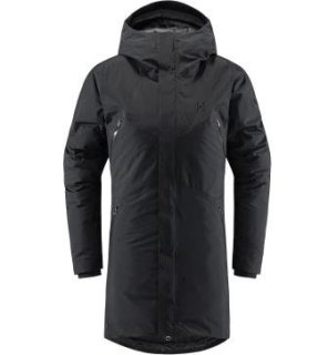 FURUDAL DOWN Q PARKA - TRUE BLACK