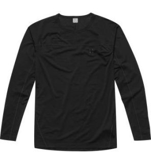 ACTIVES WOOL ROUNDNECK - TRUE BLACK