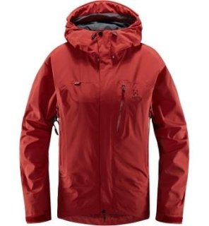 ASTRAL Q JACKET - BRICK RED