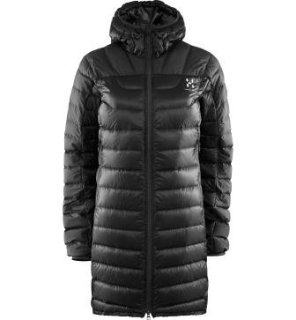 BIVVY DOWN Q PARKA - TRUE BLACK SOLID