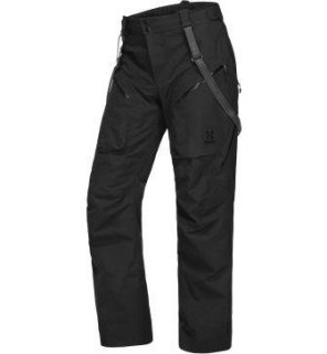 CHUTE PANT - TRUE BLACK SOLID