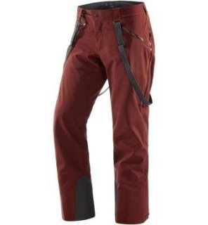 COULOIR PANT - MAROON RED