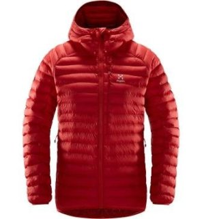 ESSENS MIMIC Q HOOD - HIBISCUS RED/BRICK RED