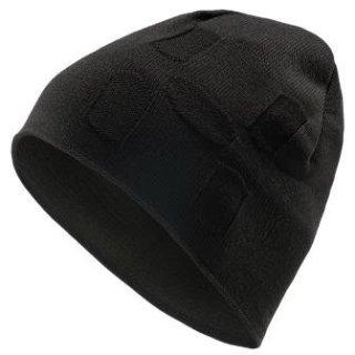 H BEANIE - TRUE BLACK