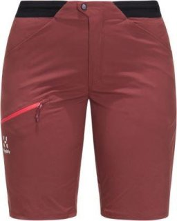 LIM FUSE Q SHORTS - MAROON RED