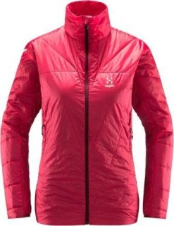 LIM BARRIER Q JACKET- HIBISCUS RED