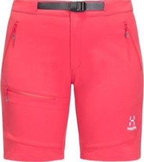 LIZARD Q SHORTS - HIBISCUS RED