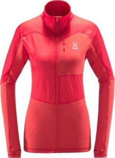 SIRRO MID Q JACKET - HIBISCUS RED