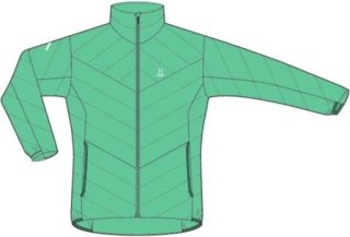 LIM ESSENS Q JACKET - GLACIER GREEN