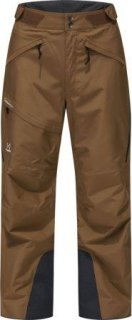 LUMI LOOSE Q PANT -  TEAK BROWN