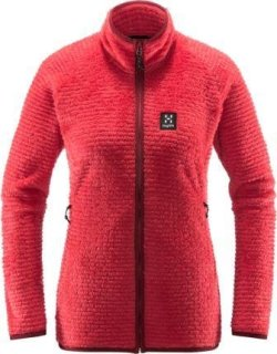 SENSUM Q JACKET - HIBISCUS RED