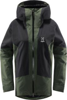 LUMI Q JACKET - FJELL GREEN/TRUE BLACK