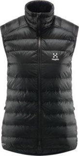 ROC DOWN Q VEST - TRUE BLACK