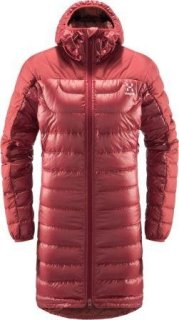 BIVVY DOWN Q PARKA - BRICK RED