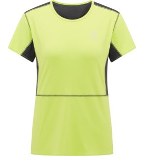 LIM Q CROWN TEE - SPROUT GREEN/MAGNETITE