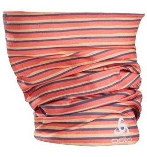 TUBE PRINTED - PAPAYA   HOT CORAL   DIVING NAVY