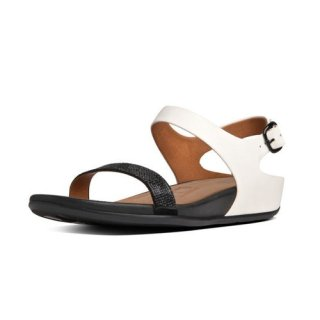 Banda TM micro-crystal sandal - black/white
