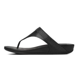 Banda TM micro-crystal toe-post - black