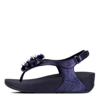 BOOGALOO TM BACK STRAP SANDAL -MIDNIGHT NAVY es