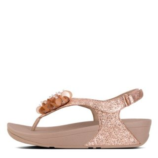 BOOGALOO TM BACK STRAP SANDAL - ROSE GOLD es