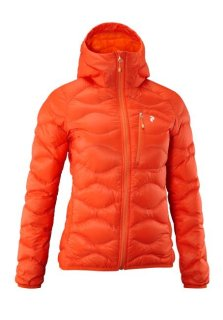 HELIUM HOOD JACKET W - Sparky Orange