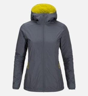 SHIFT HOOD JACKET W - Grey Sky