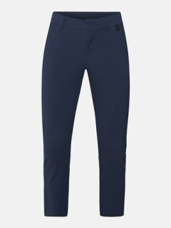 ILLUSION CROPPED PANTS W - BLUE SHADOW