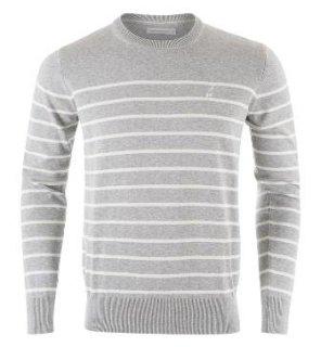 BRADYSTR C Pullover - Med Grey Mel