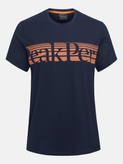 EXPLORE TEE STRIPE P M  - BLUE SHADOW