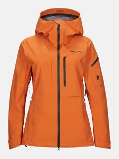 ALPINE JACKET W - ORANGE ALTITUDE
