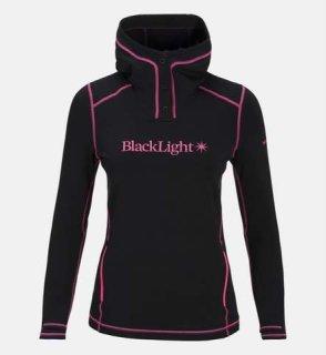 BL HOOD W - Black