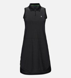 BLOCK DRESS W - BLACK