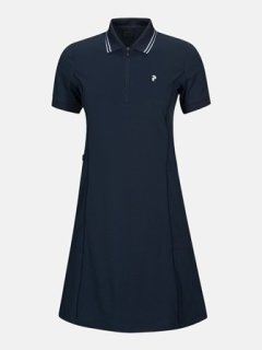 MEDINAH DRESS W - BLUE SHADOW