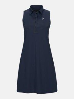 TRINITY DRESS W - BLUE SHADOW