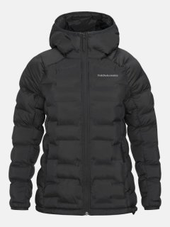 ARGON HOOD JKT W - BLACK