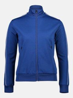 FLOW ZIP JACKET W - CIMMERIAN BLUE