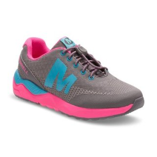 GIRLS VERSENT YOUTH - GREY/PINK/TURQ