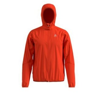JACKET WISP WINDPROOF - MANDARIN RED