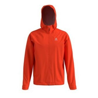 JACKET HARDSHELL AEGIS 2.5L WATERPROOF - MANDARIN RED