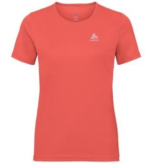 T SHIRT S/S CREW NECK CARDADA - HOT CORAL