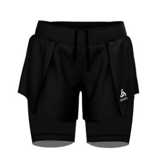 2 IN 1 SHORTS ZEROWEIGHT CERAMICOOL PRO - BLACK