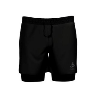 2 IN 1 SHORTS MILLENNIUM PRO - BLACK   BLACK